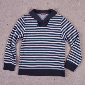 1105 Pippy Back to Natural BOYS Stripe Sweater